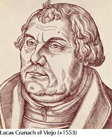 Lutero-Lucas Cranach el Viejo