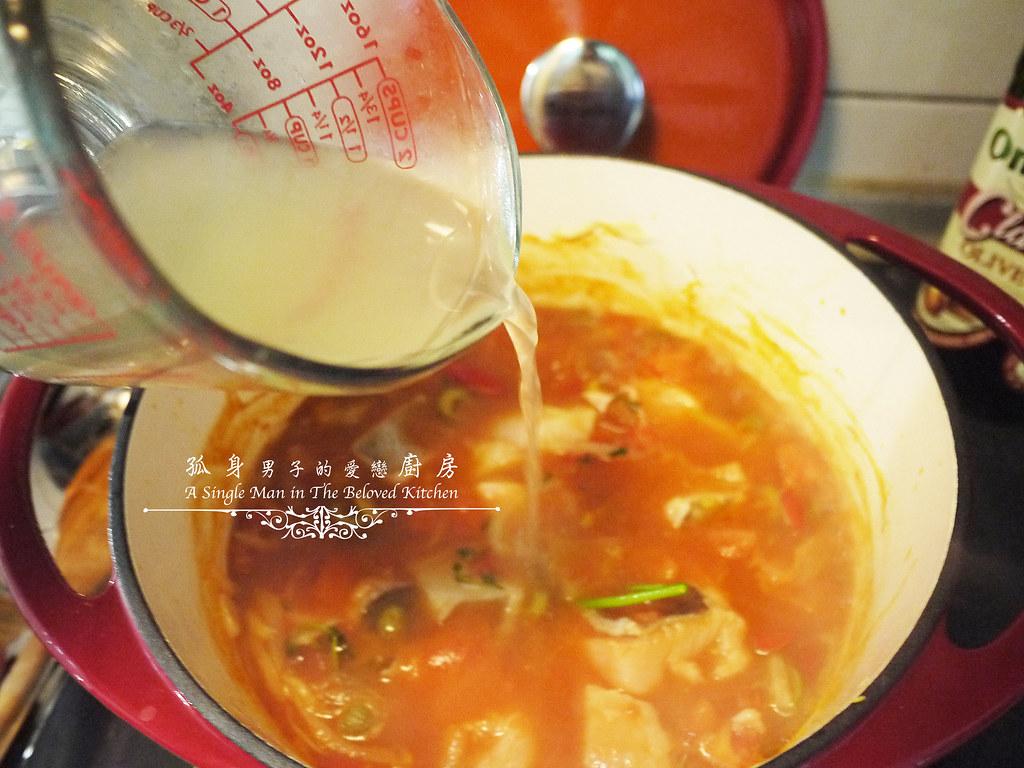 孤身廚房-寶迪鍋一鍋到底茄汁綜合貝類義大利麵佐烤天使紅蝦與櫛瓜18