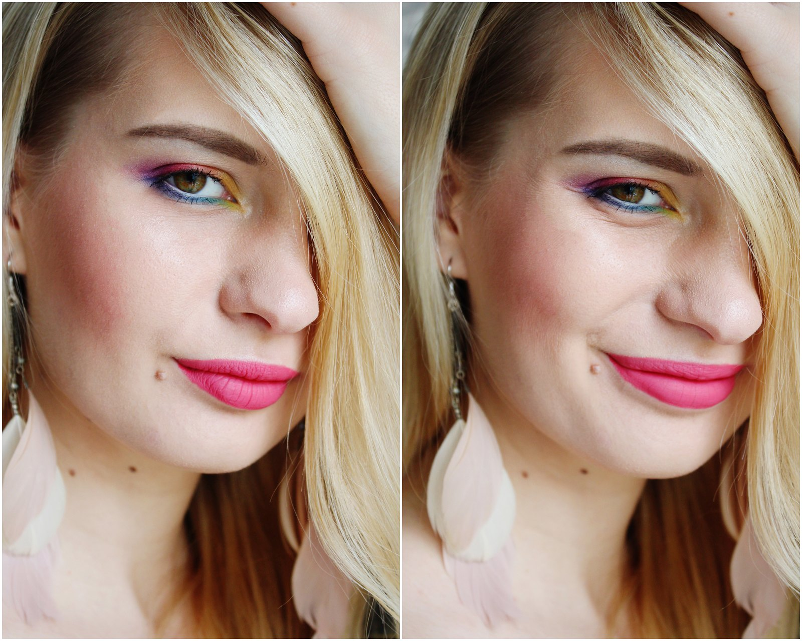 Beauy blogger makeup look