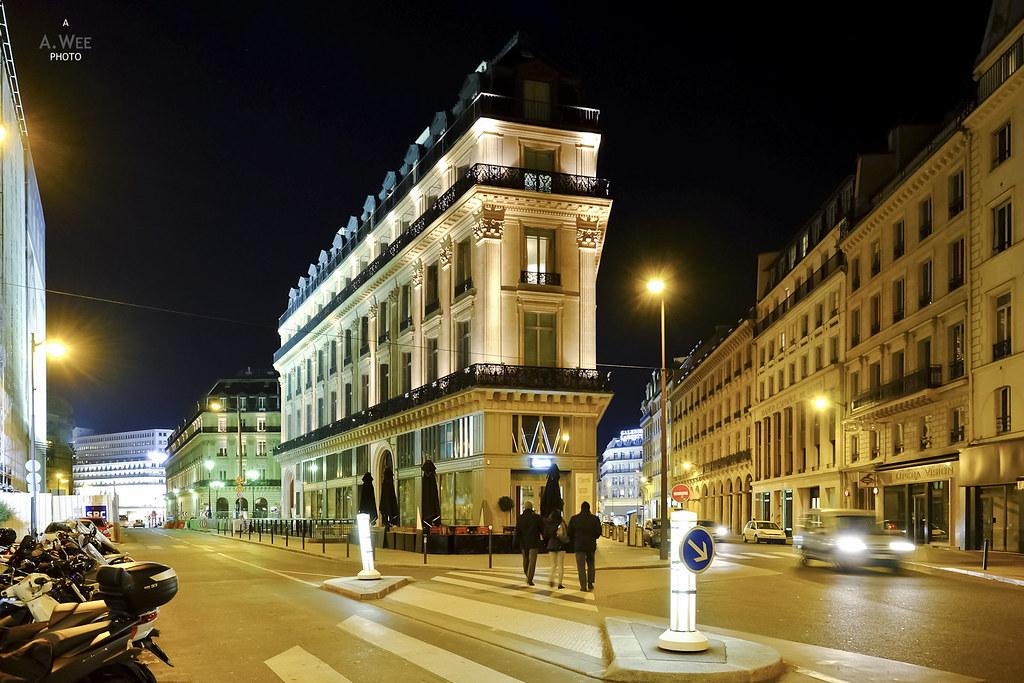 W Hotel in Paris