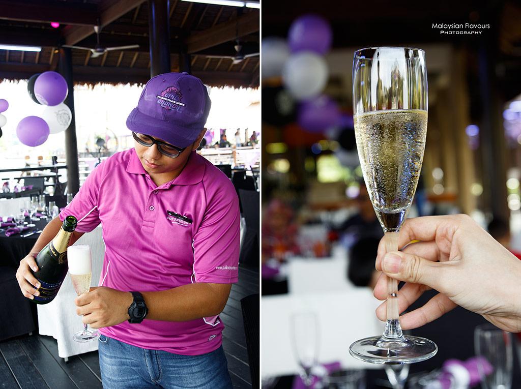 Pullman Putrajaya Lakeside Epic Brunch Buffet champagne pouring