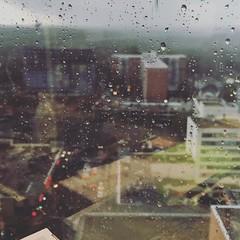 Rainy morning in Silver Spring #dtss #merrland #rain #dcwx
