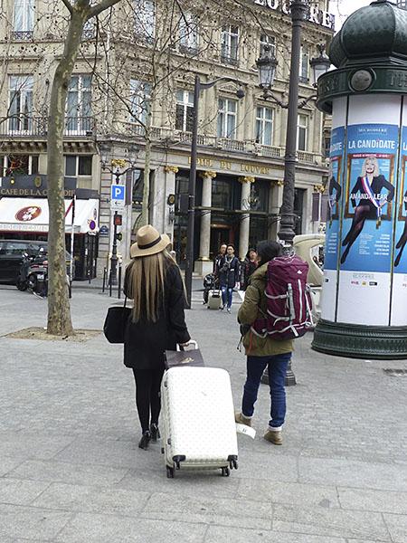 valise et sac à dos