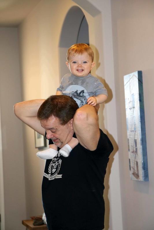 Finnegan and Grandpa
