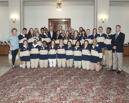 2016 - Blue and Gold Society Induction Ceremony Gallery