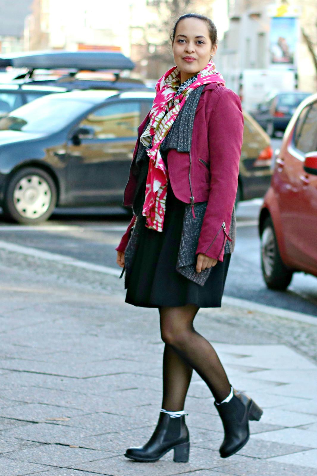 Spring Look with Moto Jacket I www.StyleByCharlotte.com