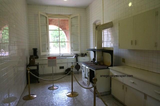 淡水 紅毛城の台所