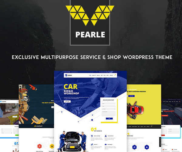 Pearle Multipurpose Service & Shop WP Theme