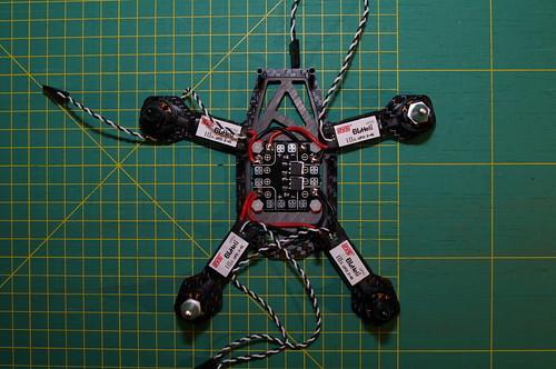 ESCs soldered