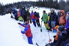 Lavinový kurz pro ukrajinské horské vůdce a záchranáře