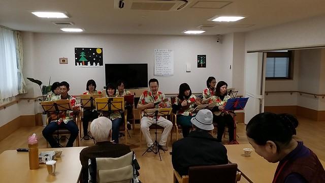 【ボランティア演奏会】ホームケアー大日2016.1.23_3