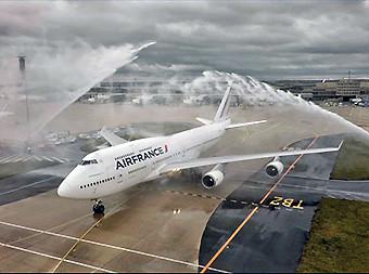Air France adios B747 2 (Air France)