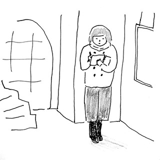 セツ、何年も行ってないけどなくなる前に写真撮りに行きたい。 入れるのかな。。  #illustration  #sketch  #drawing