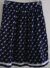 SEW-Reindeer Skirt-Front