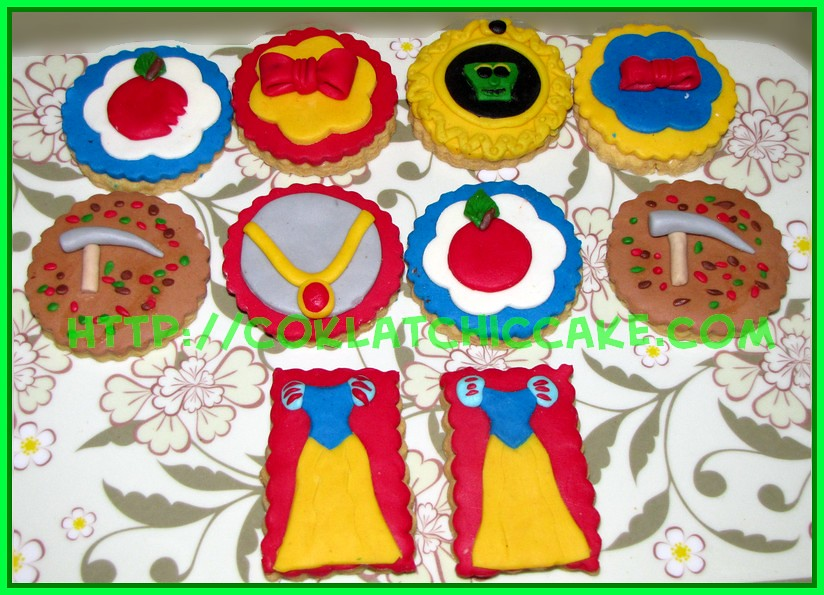 Cookies Snow White