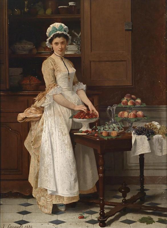 Joseph Caraud - Das Kirschenmädchen (1875)