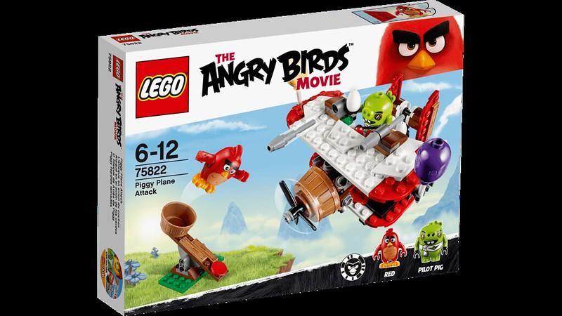 LEGO Angry Birds Movie 75822 - Piggy Plane Attack