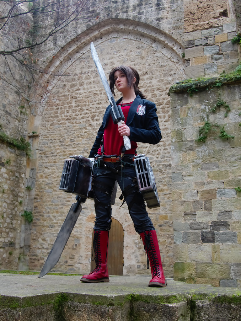 related image - Shooting Shingeki no Kyojin - Parc de Saint Pons - Gemenos - 2015-12-19- P1260287
