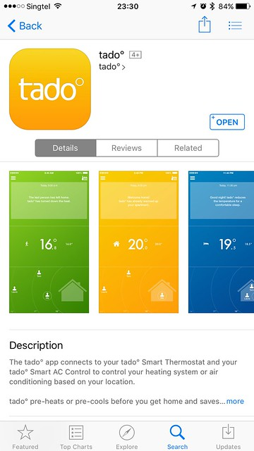 tado iOS App - App Store