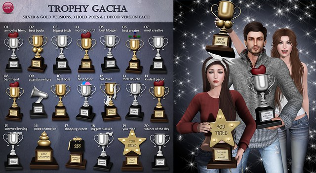Trophy Gacha (The Epiphany)
