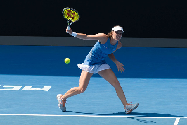 Martina Hingis at the Australian Open 2016