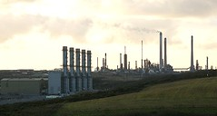 Power Station and Chevron refinery Pembroke