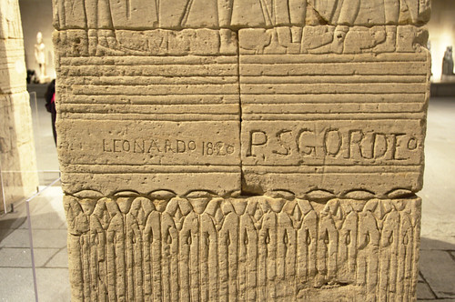 Graffiti on the Temple of Dendur