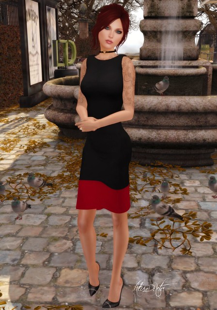 Emerald Couture,EC,ASR,Hunt,Little Black Dress,Ali,AlisaDexter