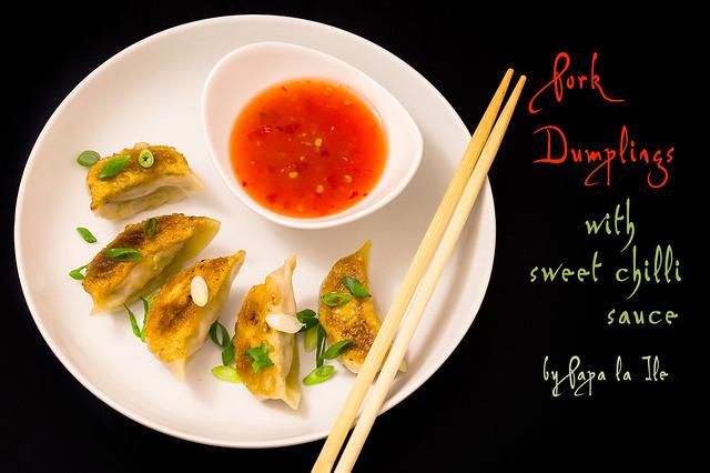 Pork Dumplings (Pork Jiaozi)