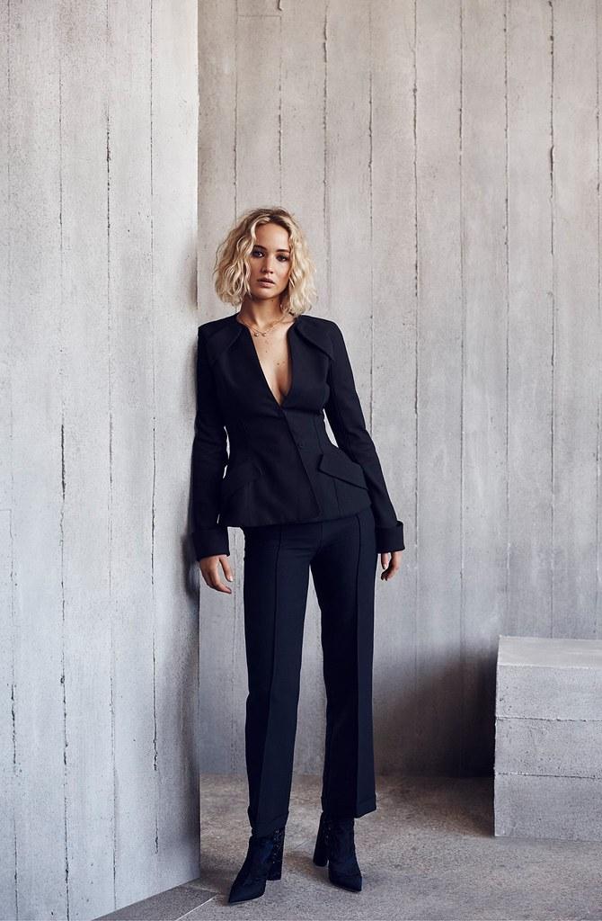 Дженнифер Лоуренс — Фотосессия для «Dior» NG 2015 – 2