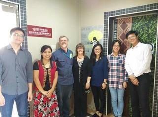 2014 TUA Prof. Amery Visits ILRDC