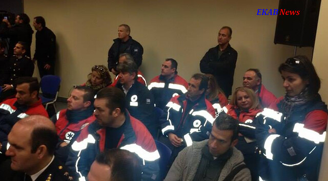 Παραδόθηκαν στο ΕΚΑΒ εννέα ασθενοφόρα του Πυροσβεστικού Σώματος