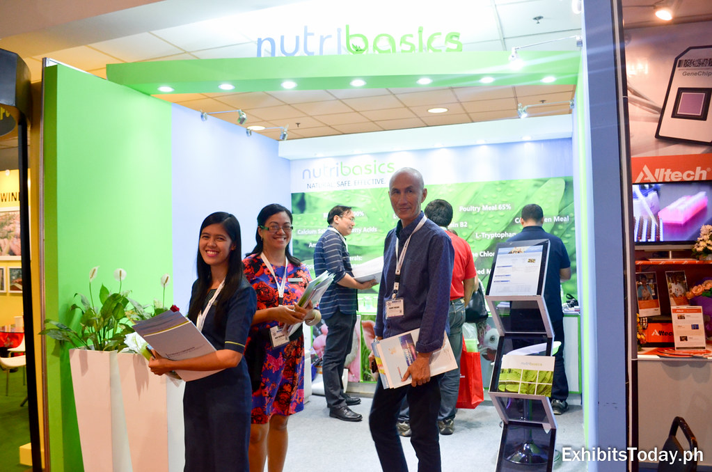 Nutribasics Corporation Exhibit Booth
