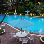 Nice corner of our swimming pool