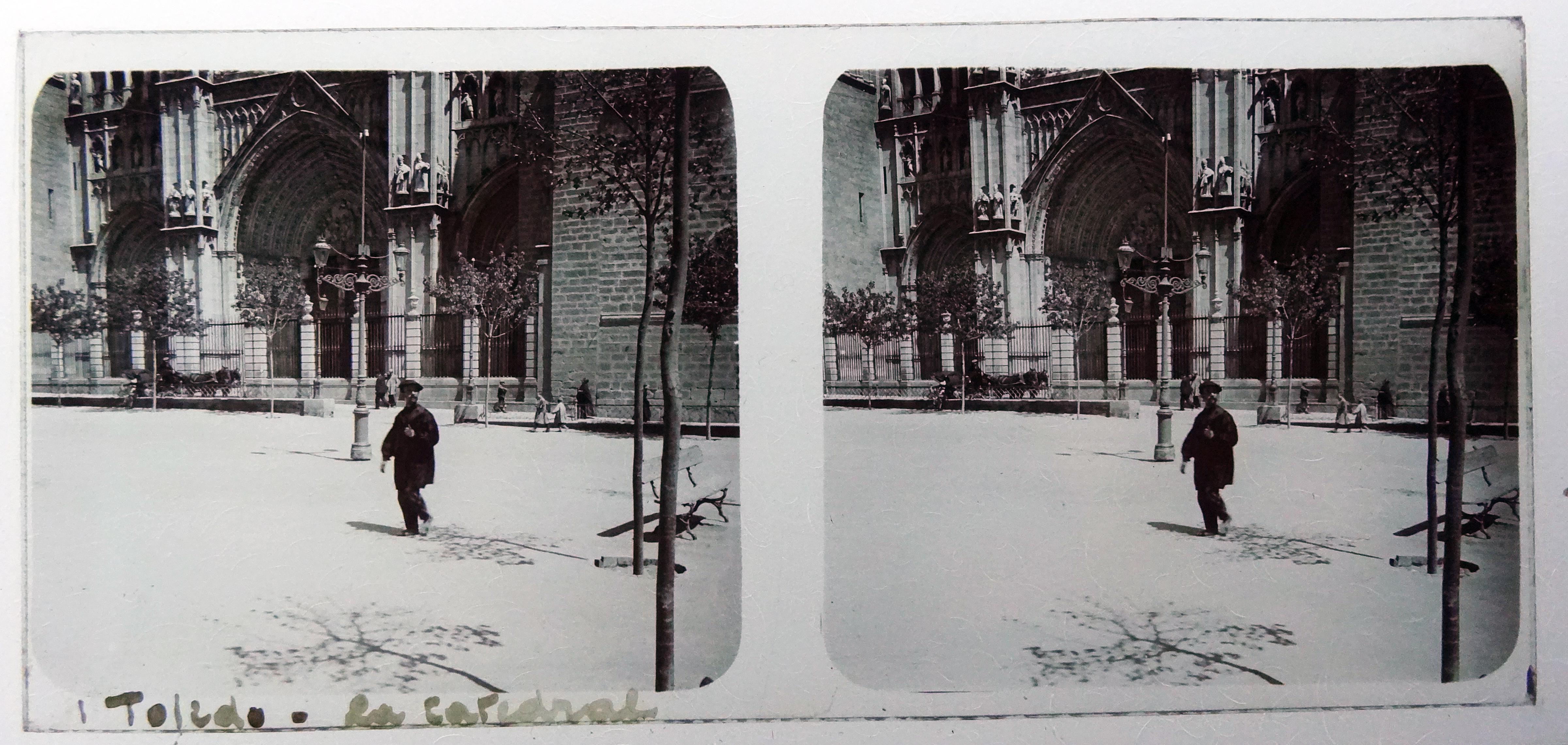 Plaza del Ayuntamiento. Fotografía de Francisco Rodríguez Avial hacia 1910 © Herederos de Francisco Rodríguez Avial