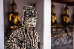 Ancient wiseman, Bangkok