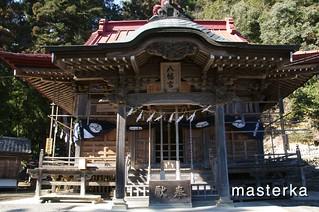 飯田八幡神社の本殿2