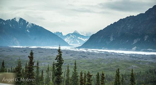 En coche por Alaska