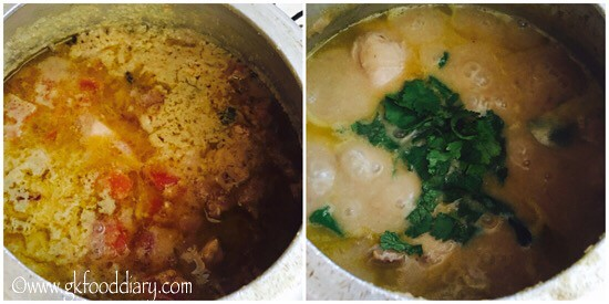 Chicken Kurma Recipe for Toddlers and Kids - step 7
