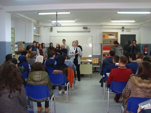 El IES Olivar de la Motilla recibe como anfitrión a los representantes del Erasmus Plus de cuatro países europeos