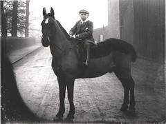 Boy on horse, Walkergate, Beverley circa 1900 (archive ref DDX1319-1-EYC1)