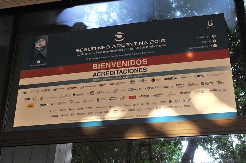 Segurinfo Argentina 2016
