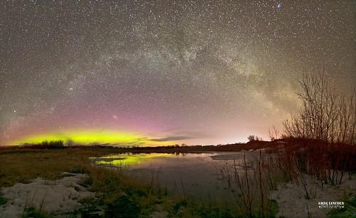 Aurora and Milky Way near Bethel.