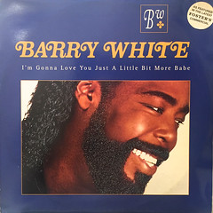 BARRY WHITE:I'M GONNA LOVE YOU JUST A LITTLE BIT MORE BABE(JACKET A)