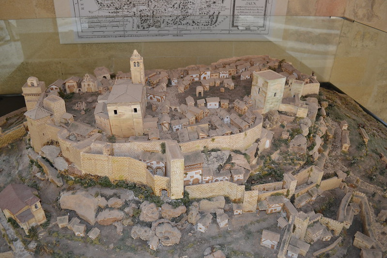 Maqueta de la Ciudad fortaleza de la Mota