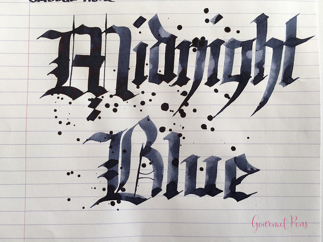 Ink Shot Review Graf Von Faber-Castell Midnight Blue @AppelboomLaren (9)