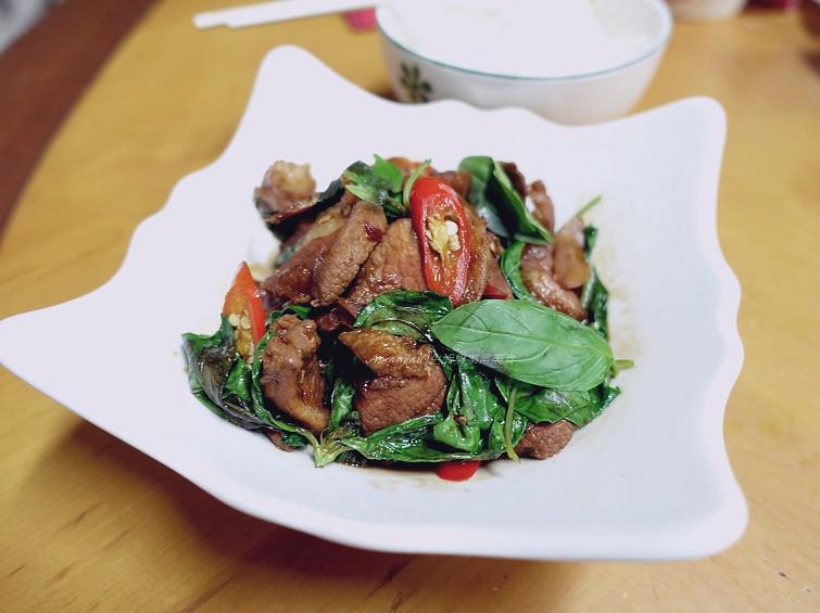 三杯肉片 (2)