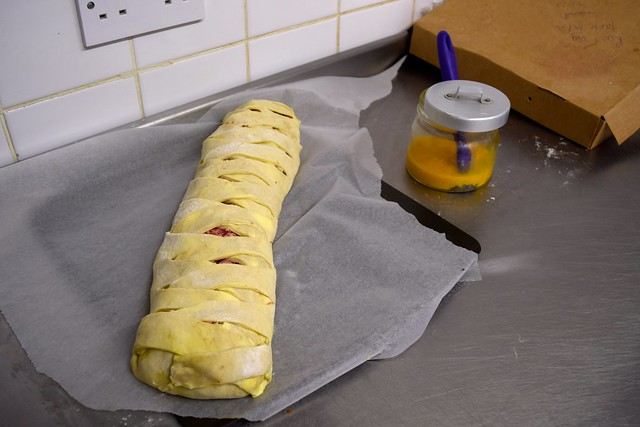 Boar Plait for the oven at Paramour Pie Club, Deal | www.rachelphipps.com @rachelphipps