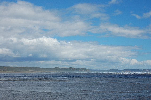 Views of the Pacific Ocean in Cucao, Chiloé, Chile