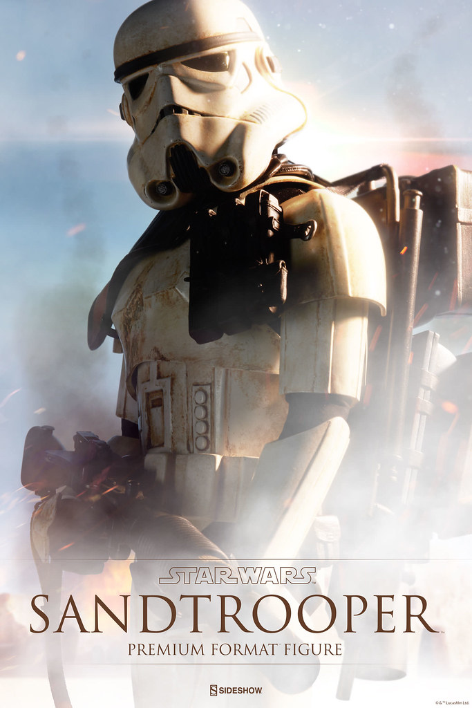 Sideshow Collectibles【沙漠暴風兵】Sandtrooper 1/4 比例 全身雕像